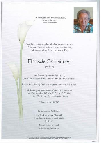 Elfriede Schleinzer