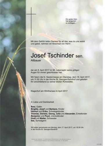 Josef Tschinder sen.