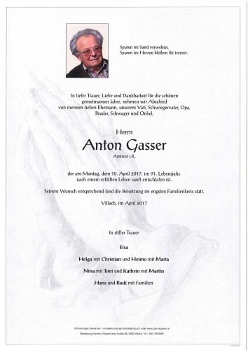 Anton Gasser