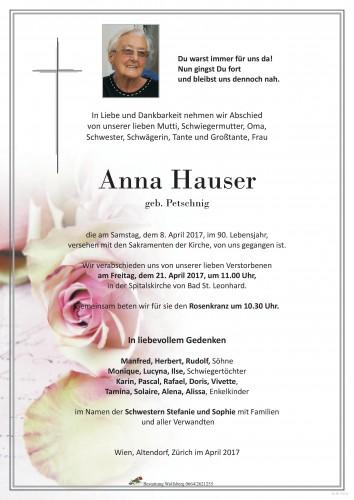 Anna Hauser