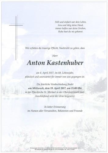 Anton Kastenhuber