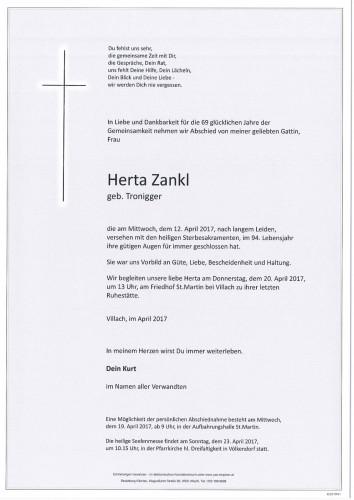 Herta Zankl