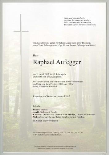 Raphael Aufegger
