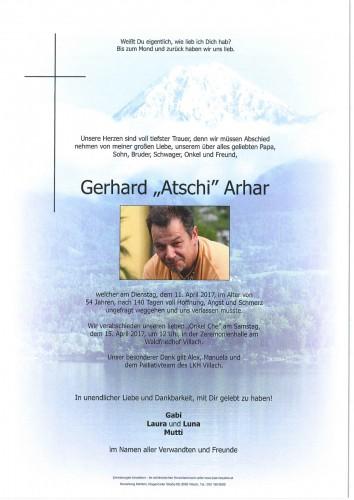 Gerhard Arhar