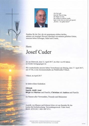 Josef Cuder