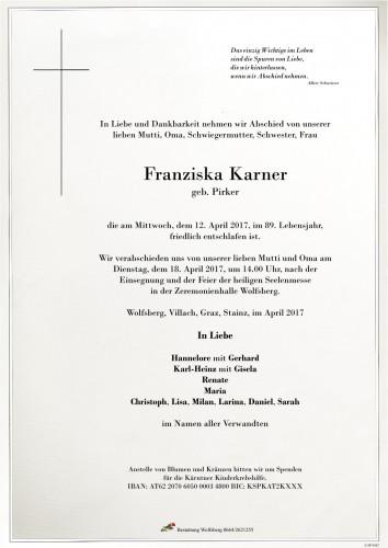 Franziska Karner