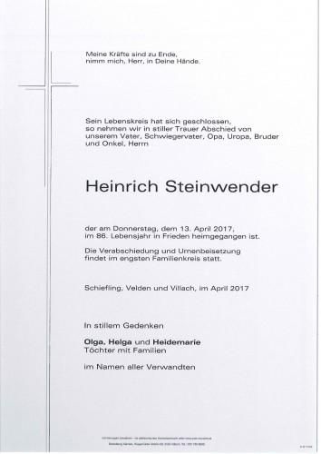 Heinrich Steinwender