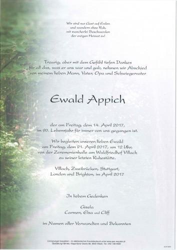 Ewald Appich