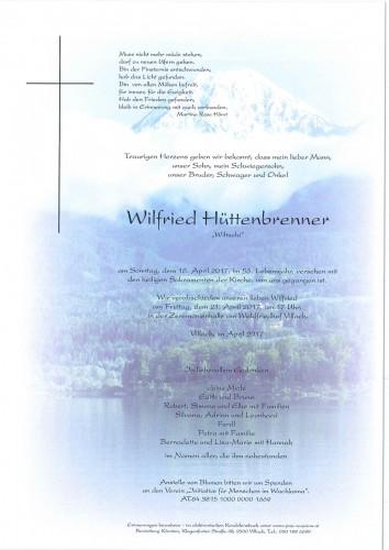 Wilfried Hüttenbrenner