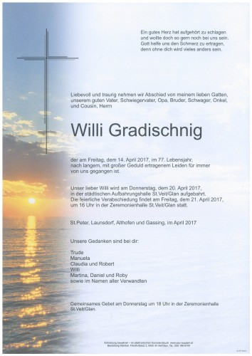Willi Gradischnig