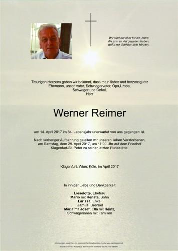 Werner Reimer