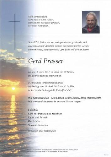 Gerd Prasser