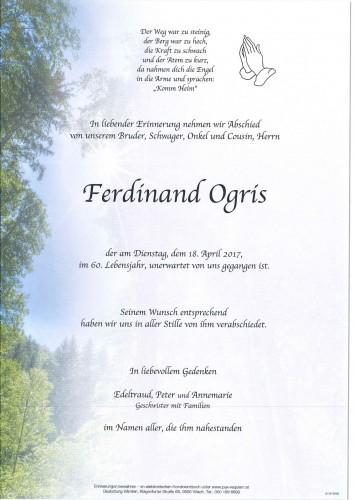 Ferdinand Ogris