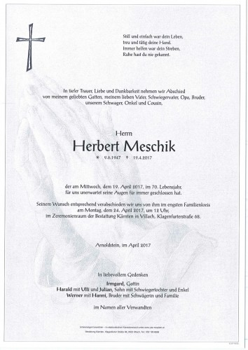 Herbert Meschik