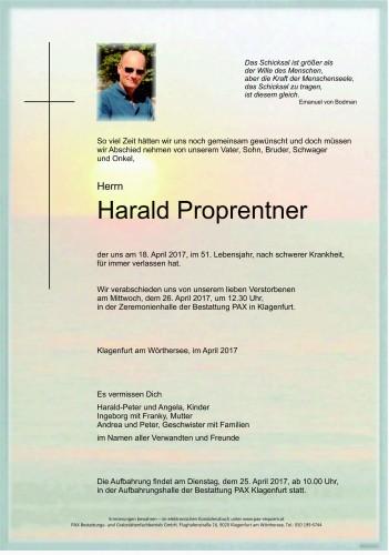 Harald Proprentner