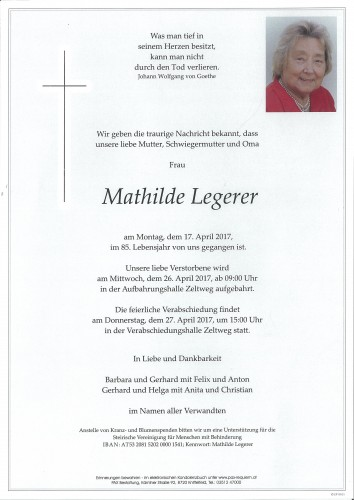 Mathilde Legerer