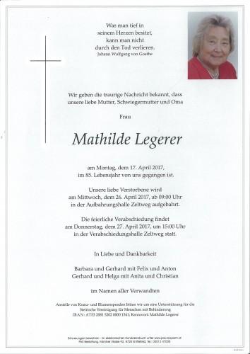Mathilde Legerer