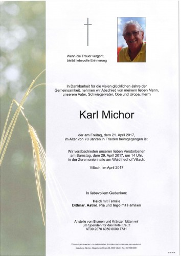 Karl Michor