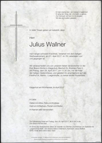 Julius Wallner