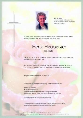 Herta Heuberger