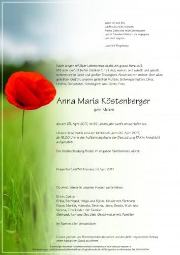 Anna Maria Köstenberger