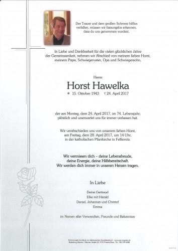 Horst Hawelka