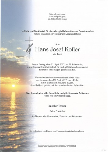 Hans Josef Kofler