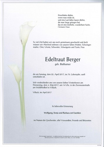 Edeltraut Berger