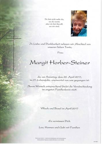 Horber-Steiner Margit