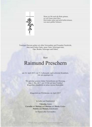 Raimund Preschern