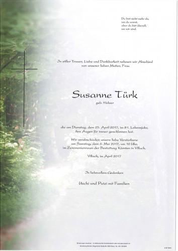 Susanne Türk geb. Holzer