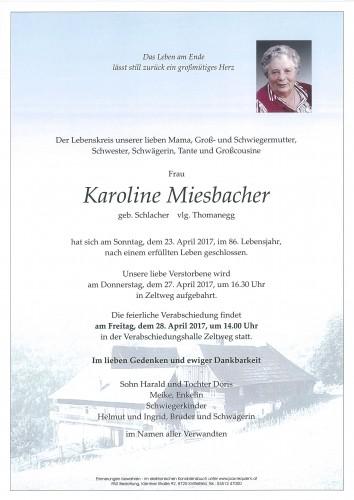 Karoline Miesbacher