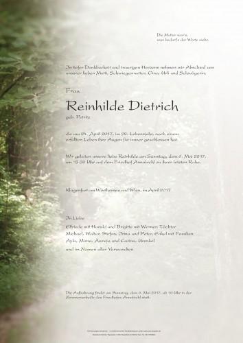 Reinhilde Dietrich
