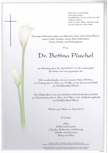 Dr. Bettina Püschel