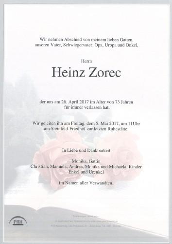 Heinz Zorec