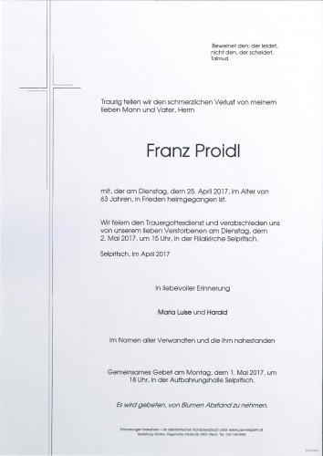 Franz Proidl