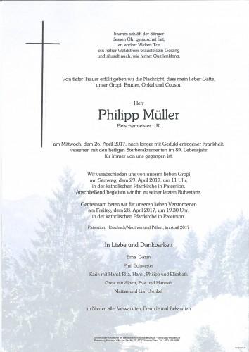 """Philipp """"Gropi"""" Müller"""