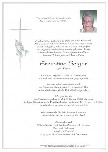 Ernestine Seiger