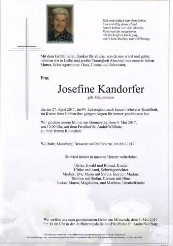 Josefine Kandorfer