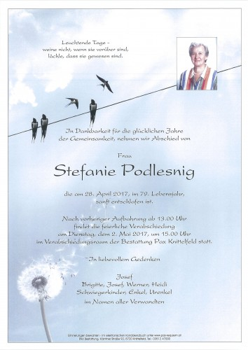 Stefanie Podlesnig