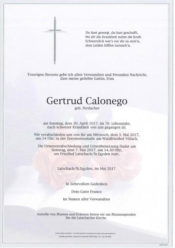 Gertrud Calonego