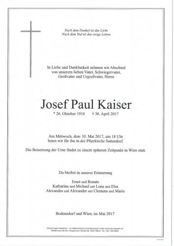 Josef Paul Kaiser