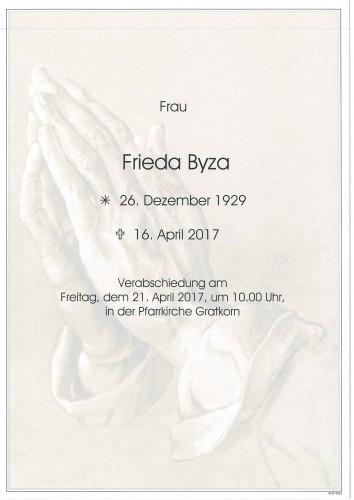 Frieda Byza