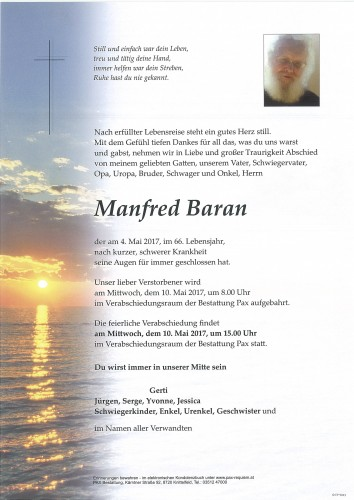 Manfred Baran
