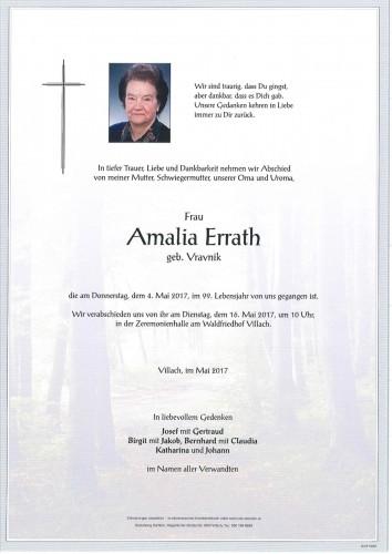 Amalia Errath