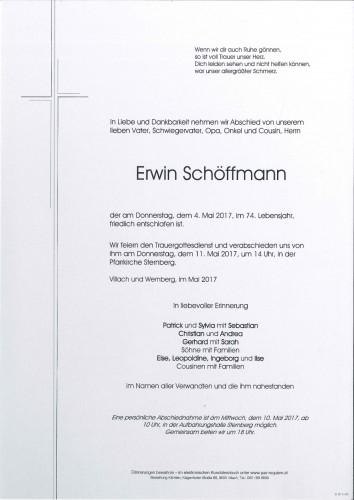Erwin Schöffmann