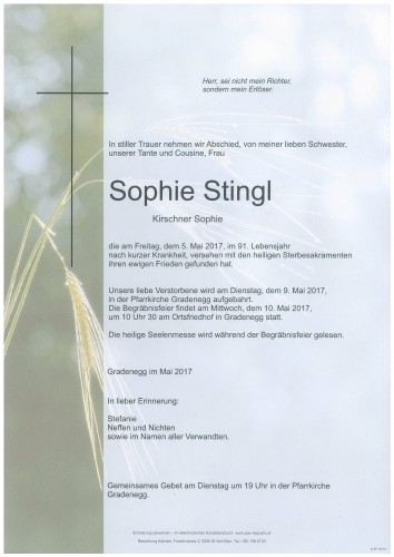 Sophie Stingl