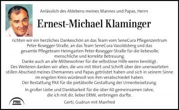 Ernest-Michael Klaminger