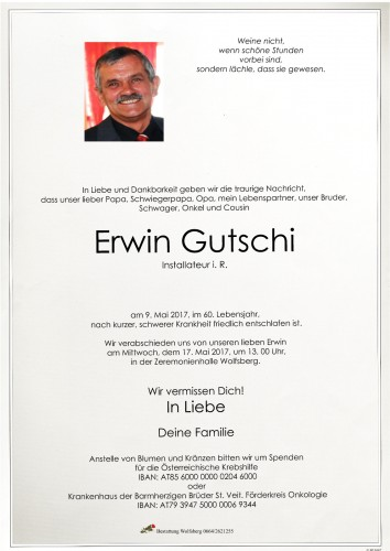 Erwin Gutschi