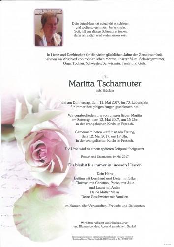 Maritta Tscharnuter, geb. Brückler